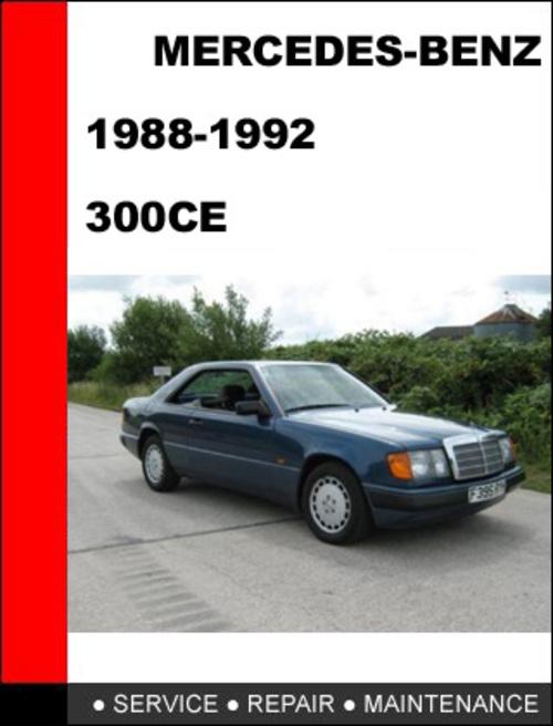service manual free service manuals online 1992 mercedes