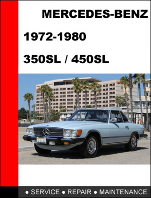Pay for Mercedes-Benz 350SL - 450SL 1972-1980 Service Repair Manual