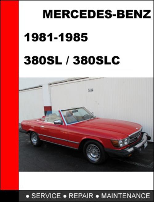 Mercedes w107 manual en repost for Mercedes benz service manual
