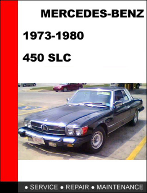 Pay for Mercedes-Benz 450SLC 1973-1980 Factory Service Repair Manual