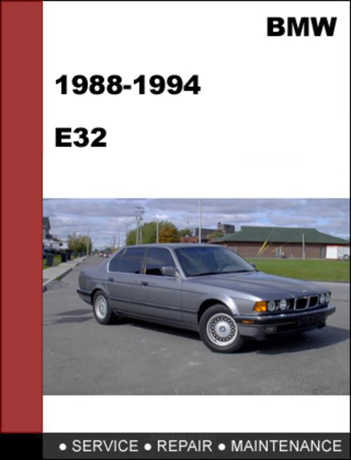 Bmw E32 1988