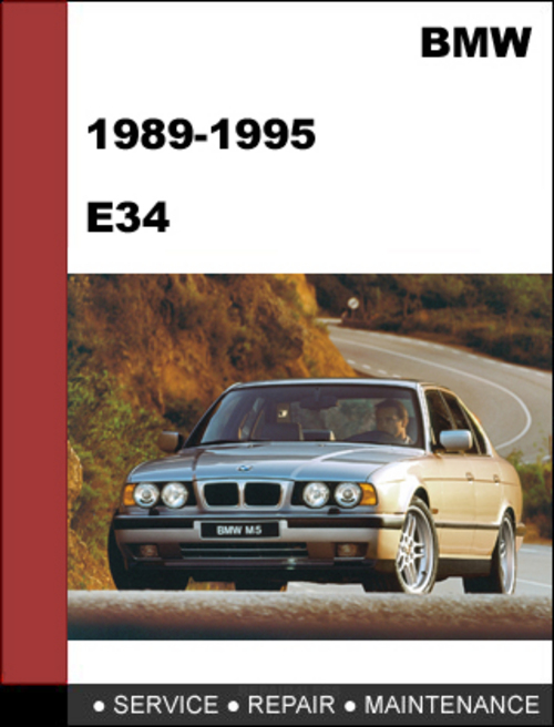 Pay for BMW E34 1988-1995 5-series Service Repair Manual Download