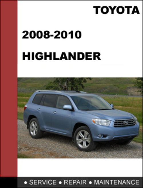 2008 toyota highlander hybrid service manual. Black Bedroom Furniture Sets. Home Design Ideas