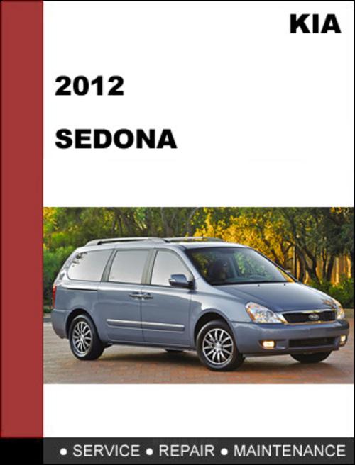 kia sedona repair manual pdf