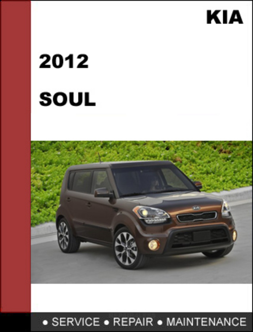 kia soul 2012 factory service repair manual download. Black Bedroom Furniture Sets. Home Design Ideas