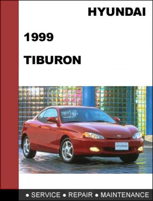 hyundai tiburon 1999 factory service repair manual 2003 Tiburon 1999 Hyundai Tiburon MPG