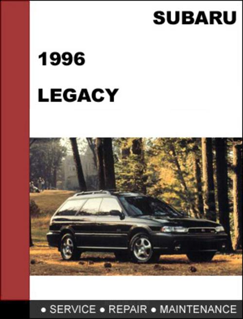 subaru legacy 1996 factory service repair manual download. Black Bedroom Furniture Sets. Home Design Ideas