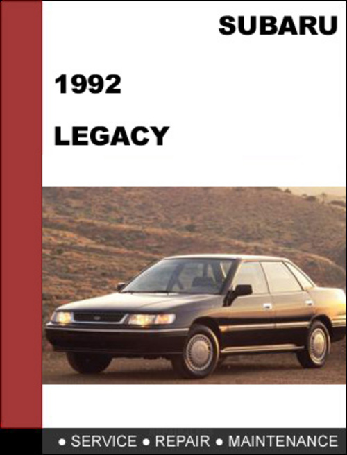 subaru legacy 1992 factory service repair manual download downloa rh tradebit com 1997 Subaru Legacy 1998 Subaru Legacy Outback Limited