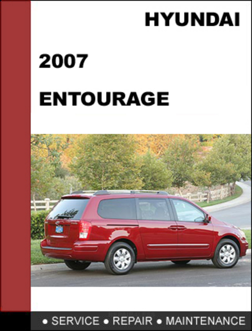 Pay for Hyundai Entourage 2007 OEM Service Repair Manual Download