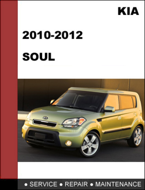 kia soul 2010 2012 oem service repair manual download. Black Bedroom Furniture Sets. Home Design Ideas