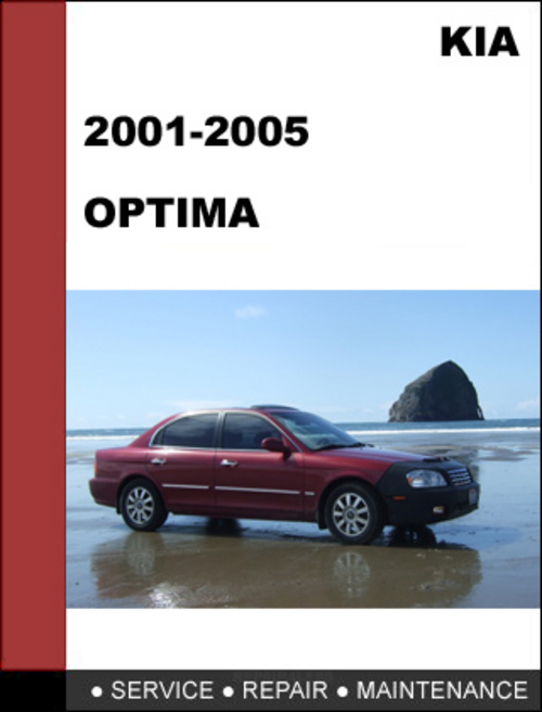 Kia Optima 2001 2005 Oem Service Repair Manual Download Tradebit
