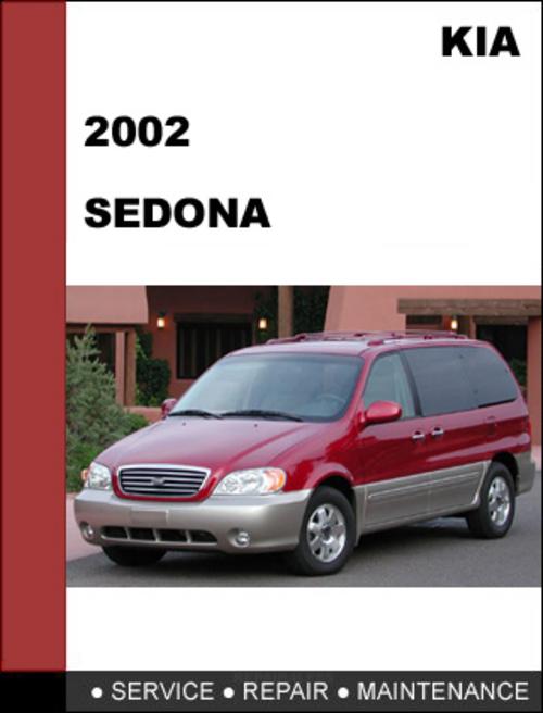 2002 kia sedona repair manual free download