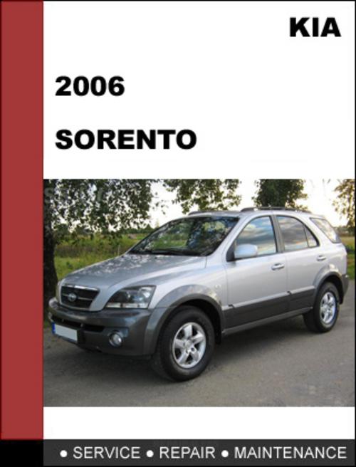 kia sorento 2006 oem factory service repair manual download downl rh tradebit com 2003 Kia Sorento Parts 05 Kia Sorento Repair Manual