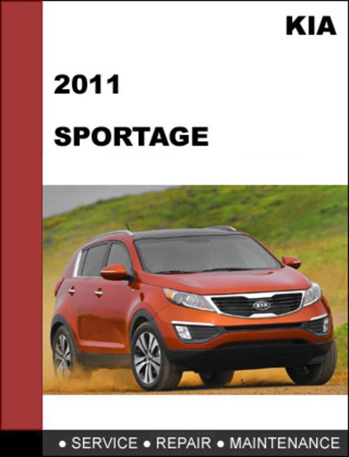 Pay for KIA Sportage 2011 OEM Service Repair Manual Download