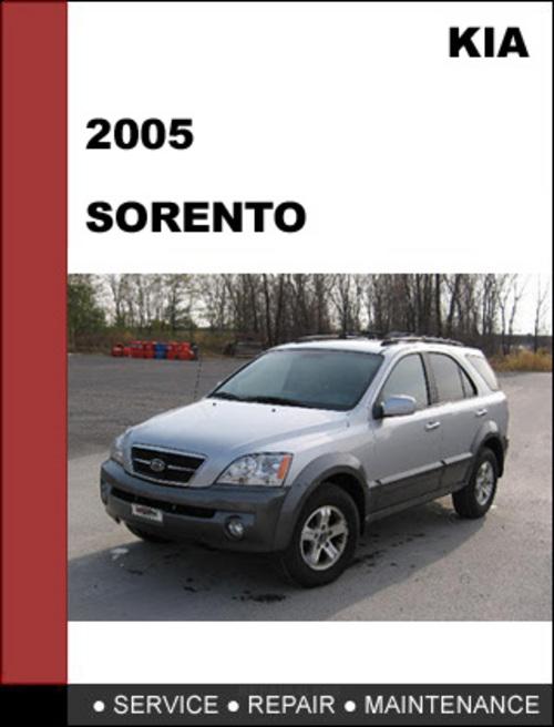 Kia Sorento 2005 Oem Service Repair Manual Download Download Manu