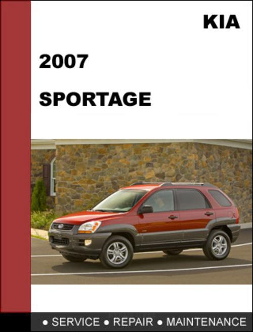 Kia Sportage 2007 Oem Service Repair Manual Download border=