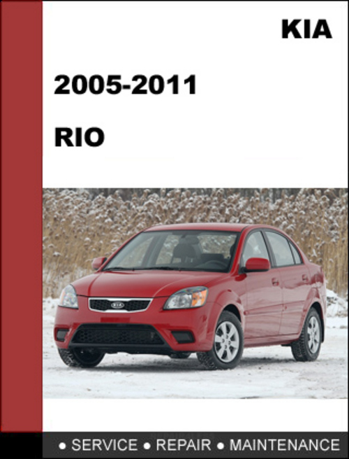 kia rio 2005 2011 oem factory service repair manual download down rh tradebit com kia rio repair manual download free kia rio 2003 manual repair