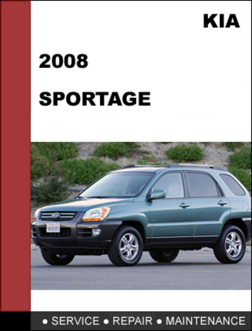 2008 kia sportage service manual download