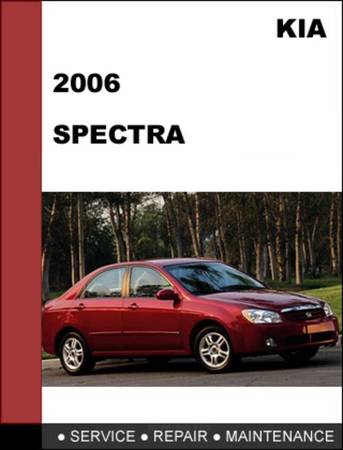 kia spectra 2006 oem service repair manual download download manu rh tradebit com 2006 kia spectra owners manual free download 2006 kia spectra manual