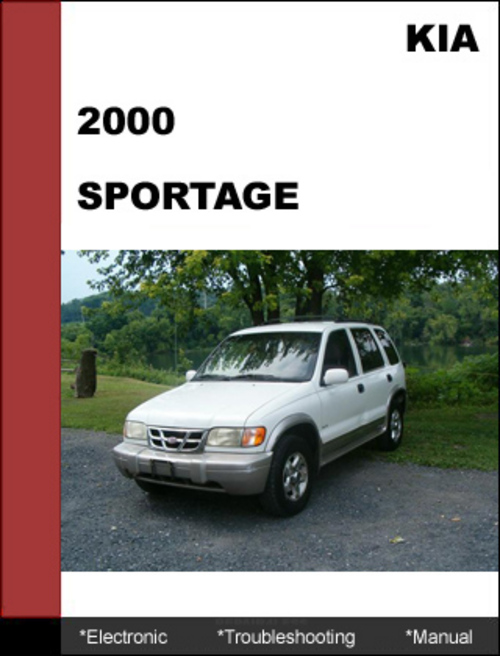 kia sportage 2000 oem electronic troubleshooting manual. Black Bedroom Furniture Sets. Home Design Ideas