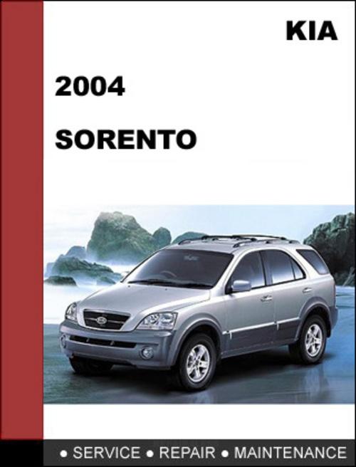2004 kia sorento repair manual