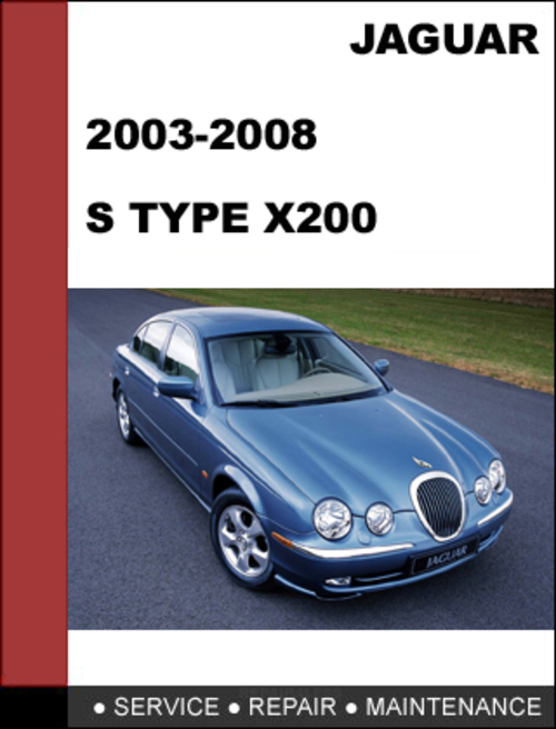 service manual 2006 jaguar s type workshop manuals free. Black Bedroom Furniture Sets. Home Design Ideas