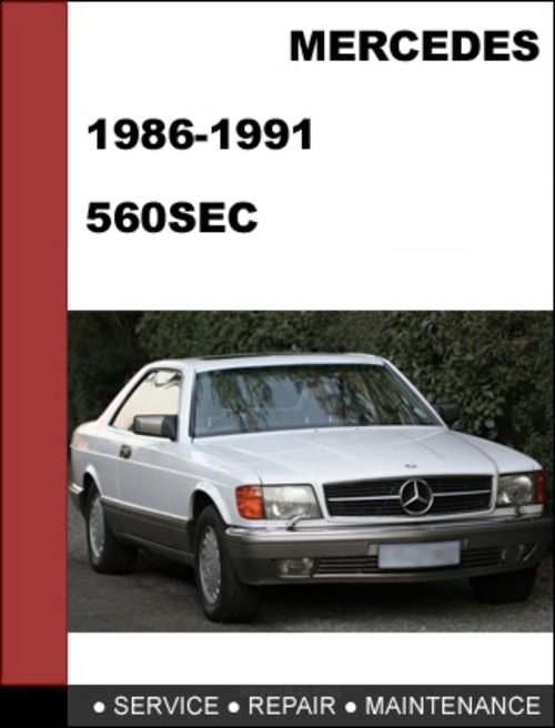 Pay for Mercedes-Benz 560SEC w126 1986-1991 Factory WORKSHOP Service manual