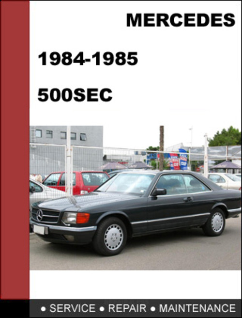 mercedes benz 500sec w126 1984 1985 factory workshop
