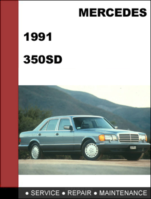 Pay for Mercedes-Benz 350SD w126 1991 Factory WORKSHOP Service manual