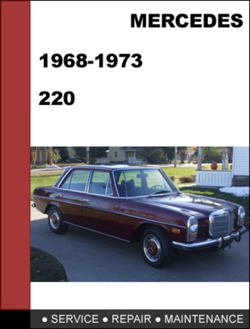 Pay for Mercedes-Benz 220 1968-1973 Factory WORKSHOP Service Repair manual Download