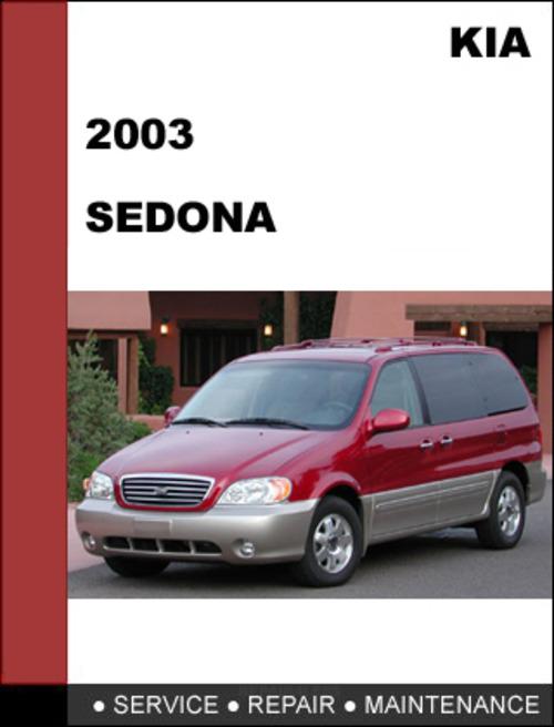 2006 kia sedona repair manual