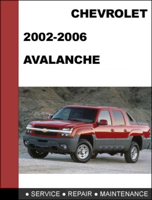 2002 avalanche owners manual