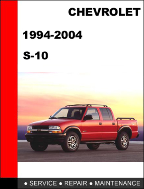 s10 1994 to 2004 factory workshop service repair manual