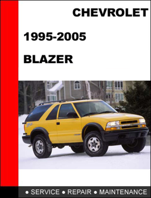 blazer bravada jimmy 1995 to 2005 factory workshop service repa Lifted S10 Blazer 2018 Chevy Blazer