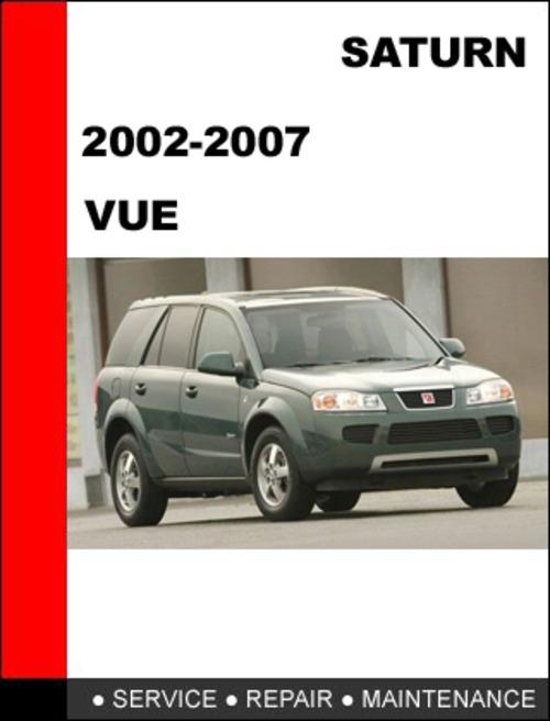 Vue 2002 To 2007 Factory Workshop Service Repair Manual border=