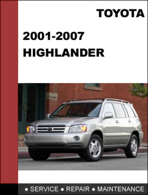 service manual 2001 toyota highlander manual free 2006. Black Bedroom Furniture Sets. Home Design Ideas