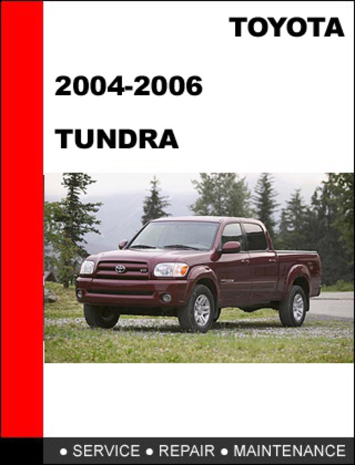 Download Free 2012 Toyota Tundra Factory Service Manual