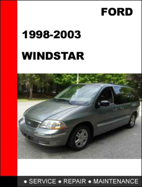 ford windstar 1998 to 2003 factory workshop service repair. Black Bedroom Furniture Sets. Home Design Ideas