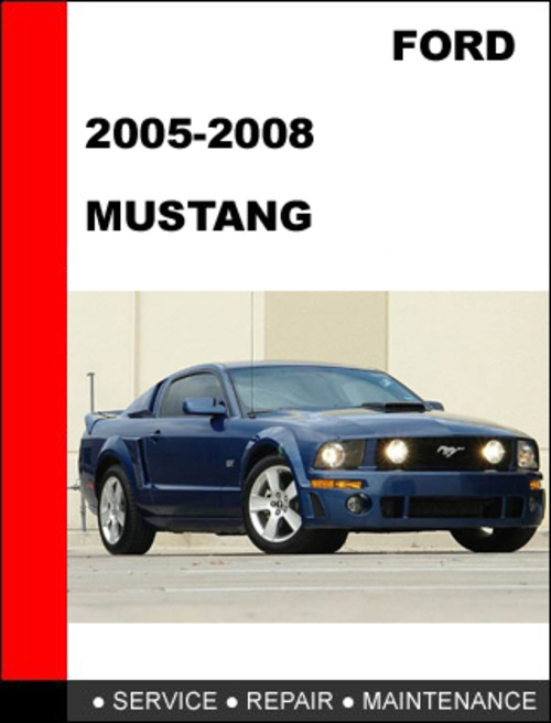 2005 ford mustang service manual car autos gallery. Black Bedroom Furniture Sets. Home Design Ideas