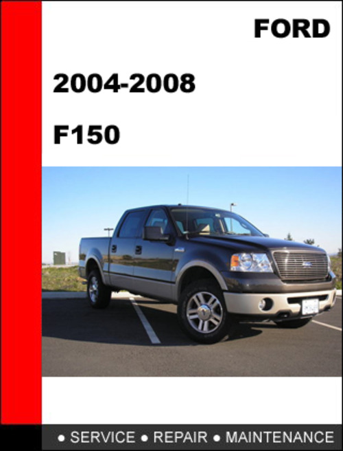 ford f150 2004 to 2008 factory workshop service repair. Black Bedroom Furniture Sets. Home Design Ideas