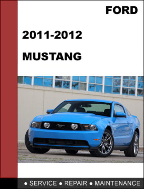 Free Ford Mustang 2011 to 2012 Factory workshop Service Repair manual Download thumbnail