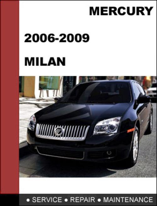 2009 mercury milan owners manual