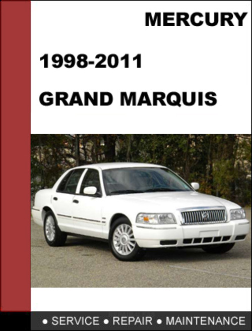 mercury grand marquis 1998 to 2011 factory workshop service repair rh tradebit com 1997 mercury grand marquis repair manual pdf 92 Grand Marquis