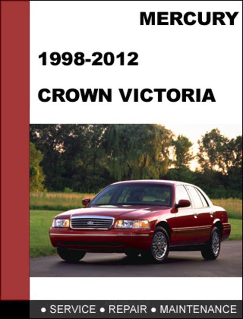 ford crown victoria 1998 to 2012 factory workshop service. Black Bedroom Furniture Sets. Home Design Ideas