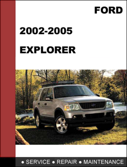 Free 2002 Ford Explorer Workshop Service Repair Manual
