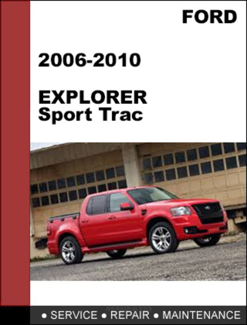 2007 ford explorer sport trac and maintenance manual free. Black Bedroom Furniture Sets. Home Design Ideas