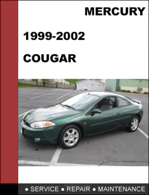 Mercury Cougar 1999 To 2002 Factory Workshop Service
