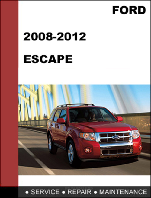 ford escape 2008 to 2012 factory workshop service repair manual dow rh tradebit com 2010 ford escape workshop manual 2010 ford escape parts manual