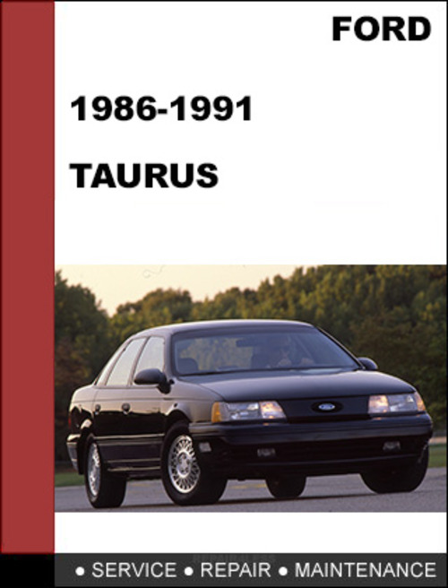 ford taurus 1986 to 1991 factory workshop service repair. Black Bedroom Furniture Sets. Home Design Ideas