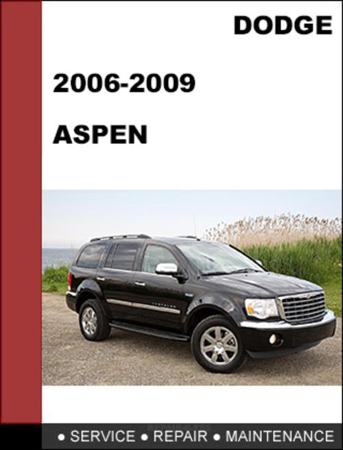 chrysler aspen 2007 2009 factory workshop service repair manual d rh tradebit com 2017 Chrysler Aspen 2017 Chrysler Aspen